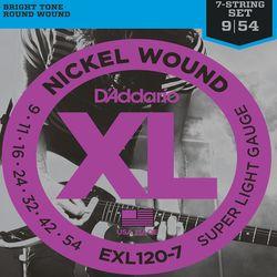 Daddario EXL120 - Струны для гитар и бас-гитар купить, цены, отзывы.