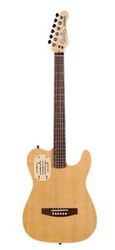 Godin ACOUSTICASTER 6 DELUXE Natural RN