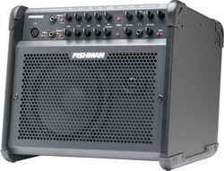 Компактный 100-ваттный (RMS) двухканальный комбоусилитель для акустических инструментов, оснащенный 3-полосным...
