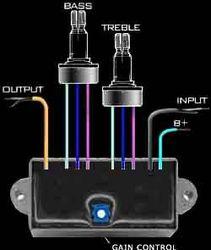 Активная электроника для электро- и бас-гитар.